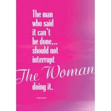 "Juliste ""The Woman"" - A4 tai A3"