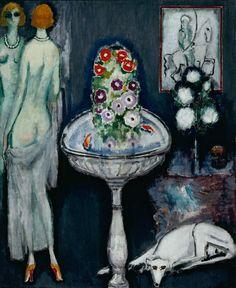 Kees van Dongen: La Vasque Fleurie, c. 1917. Musee d'Art Moderne, Paris.