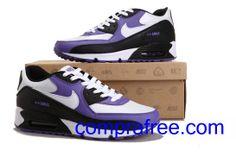 huge selection of 90d11 aea76 Comprar barato hombre Nike Air Max Zapatillas (color blanco,negro,purpura)  en linea en Espana.