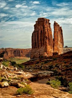 Nature's Courthouse, Arches National Park, Utah