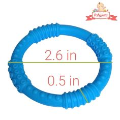 Baby Teether Colorful and BPA-Free Soothing Pain Relief and Drool Proof Infant Toys Girls - Pink and Orange 4 Silicone Sensory Baby Teething Ring Toys Solve Teething Now Fun