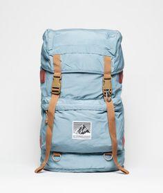 Rainier Design Climbing Pack via Norse Store. Norse Store, Unique Backpacks, Commuter Bike, Best Bags, Designer Backpacks, Men's Backpack, Herschel Heritage Backpack, Travel Luggage, Urban Fashion