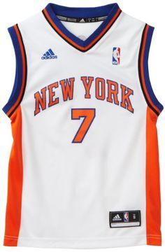 3a6494d22 Amazon.com : NBA New York Knicks Carmelo Anthony Youth 8-20 Replica Home  Jersey, Small, White : Sports Fan Jerseys : Clothing