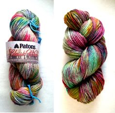 PATONS! ALL DONE! Dying yarn,have to do!!