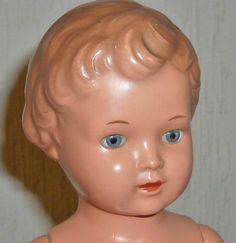 Alte SCHILDKRÖTPUPPE Schildkröt Puppe URSEL 25cm Puppen Mädchen Dolls Doll