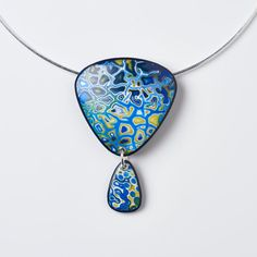 By Melanie Muir, Blue Lake - Pendant