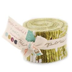 for Moda. This Junior Jelly Roll has 20 2 x strips of fabric. Line: Simply Colorful II Manufacturer: Moda Jelly Roll: 20 Material: quilting weight cotton Quilting Frames, Quilting Stencils, Quilting Rulers, Quilting Blogs, Quilting Classes, Quilting Designs, Moda Jelly Rolls, Japanese Knot Bag, Sewing Equipment