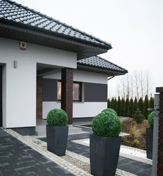 Fassadenverkleidung Außen The Effective Pictures We Offer You About black facade A quality picture can tell you many things. You can find the most beautiful pictures that can be presented to you about Exterior Design, Interior And Exterior, Front Garden Landscape, Dream House Exterior, Concept Home, Facade House, Cladding, Garden Design, House Plans