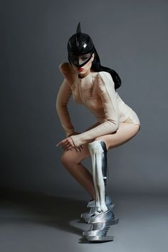 (Stylish) prosthetic-wearing Latvian breaks the mold. watch Bionic pop star sensation Viktoria Modesta's Born Risky video-https://www.youtube.com/watch?v=jA8inmHhx8c