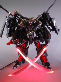 Frame Arms MAGATSUKI 羅刹 LEDs Custom: Work by Tuntun_k PHOTO REVIEW http://www.gunjap.net/site/?p=250237
