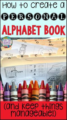 Wondering how to create personal alphabet books for your students (without going out of your mind?) Here are some tips and tricks for keeping the process manageable!