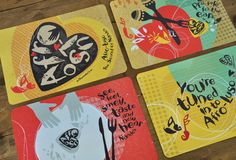Nando's Afro Luso Placemats. More than just eating. Its about the experience.