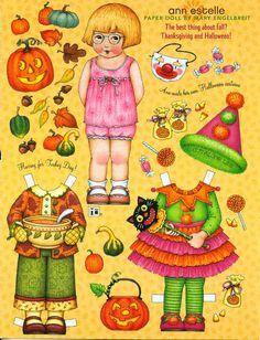 Mary Engelbreit- Halloween dress