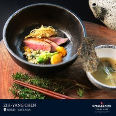 Zih-Yang Chen from Taiwan will represent North-East Asia at the Grand Finale. His dish showcases duck breast in 'The Taste of Taiwan,' with sweet potato, adlay, scallions, and other Taiwanese local ingredients.