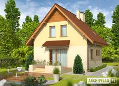 These small houses blend fine architecture and functional interiors, all with lower maintenance costs. 100 M2, Compact House, Design Case, House Plans, House Design, Cabin, House Styles, Home Decor, Small Houses