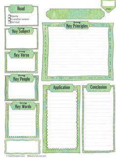 This Key Worksheet can be used for a Bible Chapter or passage. The SOAP method (Scripture, Observation, Application, and Prayer) is a great way to study but I wanted more depth so I made this works… Bible Study Notebook, Bible Study Tips, Bible Study Journal, Scripture Study, Bible Lessons, Prayer Journals, Bible Art, Scripture Journal, Bible Prayers