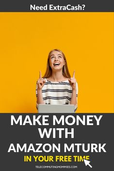 Amazon MTurk is a great way to make money from home. The tasks are an easy and fun way to earn cash in your free time. Work at home with Amazon! Cash From Home, Earn Money From Home, Way To Make Money, Make Money Online, Work From Home Companies, Work From Home Business, Work From Home Jobs, Business Tips, Amazon Mechanical Turk