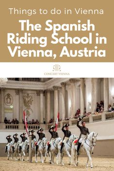 Spanish Riding School - Performance Looking for family-friendly things to do in Vienna, Austria? Tap this pin to learn about the Spanish Riding School and what a fantastic day out it is! Spanish Riding School Vienna, Stuff To Do, Things To Do, Travel Around Europe, Austria Travel, Plan Your Trip, European Travel, Cool Places To Visit, Amigurumi