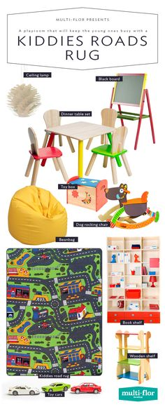 This one is part playful, part functional for the children's bedrooms or their play area. Young Ones, Wooden Shelves, Toy Boxes, Ceiling Lamp, Rocking Chair, Playroom, Bedrooms, Rugs, Children