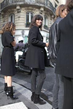 Emmanuelle Alt | Paris Fashion Week