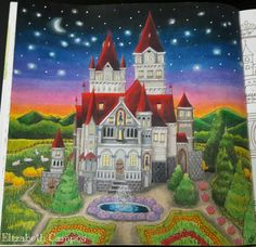 Inspirational Coloring Pages by Elizabeth Campos #romanticcountry #eriy #coloringbooks #livrosdecolorir #coloriage #adultcoloring