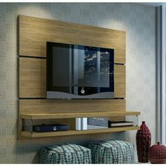 Modern tv wall unit designs for living room modern wall unit wall unit designs wall unit . modern tv wall unit designs for living room Tv Entertainment Units, Diy Entertainment Center, Panneau Mural Tv, Tv Wall Panel, Wall Tv, Shelf Wall, Wood Wall, Tv Shelf, Shelf Brackets
