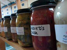 Debbie D's Homemade Pickles, New England, Cucumber, Salsa, Artisan, Jar, Homemade, Food, Home Made