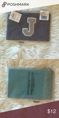 Initial J Pouch 🎉🎉🎉SALE🎉🎉🎉BRAND NEW WITH TAGS INITIAL J POUCH FROM NORDSTROM. ITS 9 1/2 INCHES WIDE & 6 INCHES HEIGHT..(SALE PRICE IS FIRM) Nordstrom Bags Clutches & Wristlets