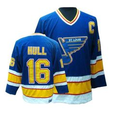 Brett Hull jersey-Buy 100% official CCM Brett Hull Men's Authentic Blue Jersey Throwback NHL St. Louis Blues #16 Free Shipping.