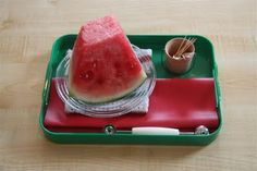 Montessori Practical Life Lessons: Learning to make watermelon balls, then having them as a snack! Montessori Trays, Montessori Education, Montessori Classroom, Montessori Materials, Montessori Activities, Time Activities, Montessori Toddler, Toddler Play, Toddler Food