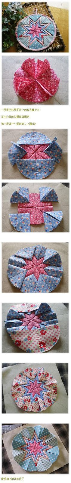 Patchwork --- folding mat tutorial