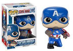 GameStop Exclusive: Action Pose Captain America Pop! #Funko #popvinyl