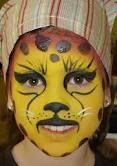 maquillaje facial niños - guepardo
