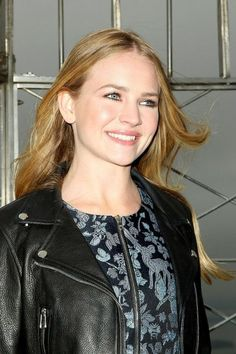 Britt Robertson Empire State Building New York City Photoshoot