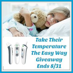 Take Their Temperature The Easy Way Giveaway