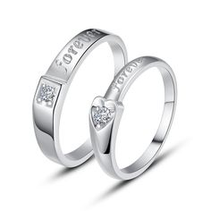 925 Sterling Silver Heart Ring set //Price: $24.95 & FREE Shipping //     #Engagement Rings   925 Sterling Silver Heart Ring set                      50.99,   24.95  https://mymonsterdeal.com/925-sterling-silver-heart-ring/    My Monster Deal