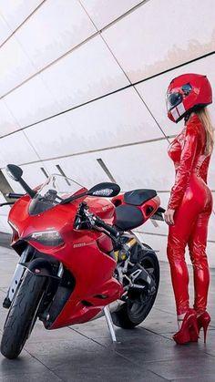 Super Bikes & Hot Girls 2019 Compilation - Stunts, Wheelie and Burnout Ducati, Dirt Bike Girl, Moto Bike, Motorcycle Bike, Lady Biker, Biker Girl, Motos Sexy, Moto Cross, Motorbike Girl