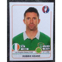 Football Soccer Sticker Panini UEFA Euro 2016 #534 Ireland