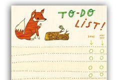 Fox To Do List -☆☆