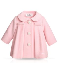 Pink Coat for the Winter Months nice and Girly- your little one will look cuddly and cute in this!