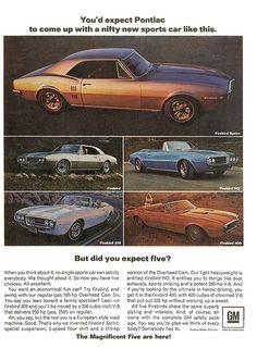 Pontiac Firebird ad (1967) | Flickr - Photo Sharing!