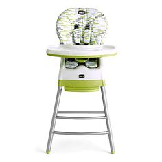 We're giving away a Chicco product a day for 100 days! Today's prize is a Chicco Stack 3-in-1 Multi-Chair in Kiwi. Head to pnmag.com/chicco to put your name in the hat.