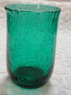 """6 stk glass Hadeland """" Grønnlandserien"""" Design Arne. J. Jutrem selges samlet 800,-kr"""
