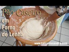 Luisa Alexandra: Pão Caseiro Cozido em Forno de Lenha • VÍDEO