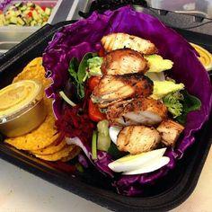 #food @cravefoodtruckstaug  The Gainz Wrap  Purple Cabbage Style  #instafood  #staug #staugustine #eatlocal #staugfoodies #foodpic #foodie #wellness #flaglercollege #healthyfood #salad #wrap #smoothie #fitnessfood #vegan #paleo #glutenfree #eatclean #freshfood #health #workout #healthyliving #yummy #organic #bulldog #yoga #floridashistoriccoast #fitness #nom @staugustinebuzz