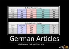 the worst part about this is that everyone in germany messes them up too....