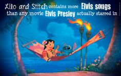 Lilo and Stich is the best Disney movie, and I love all the Elvis songs in it! Ohana, Disney And Dreamworks, Disney Pixar, Walt Disney, Funny Disney, Disney Nerd, Princess Disney, Disney Princesses, Disney Characters