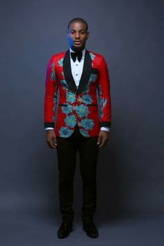 """Alexx Ekubo, Beverly Osu, Ik Ogbonna & More Rock Bold Prints & Colours in Jason Porshe's """"Bella Vista"""" Collection African Fashion Designers, African Print Fashion, Africa Fashion, African Shirts, African Wear, African Attire, Couples African Outfits, African Style, African Women"""