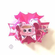 Alice In Wonderland Inspired Boutique Hair Bow by handmadefrillsuk