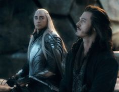War buddies #Thranduil and #Bard